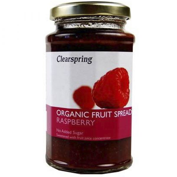 Organic Fruit Spread- Raspberry 290Gr