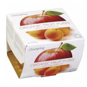 Fruit Puree Apple&Apricot 2X100Gr