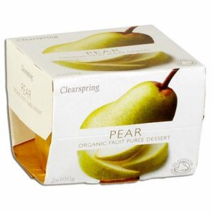 Fruit Puree Pear 2X100Gr