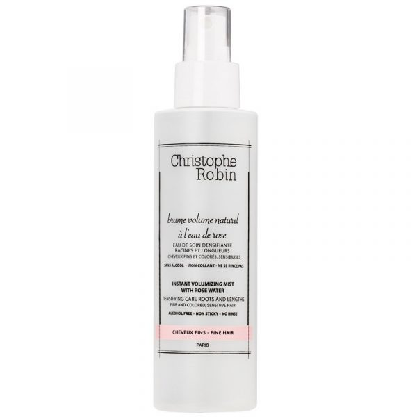 Instant volumizing mist with rose water 150 ml
