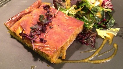 Healthy recipe: Fish and vegetable pie with mixed salad