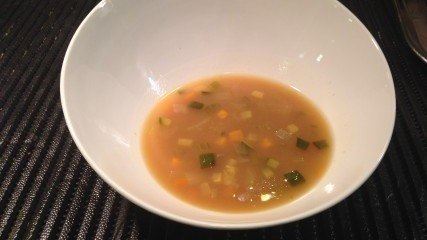 Healthy recipe: Barley soup with vegetables and miso