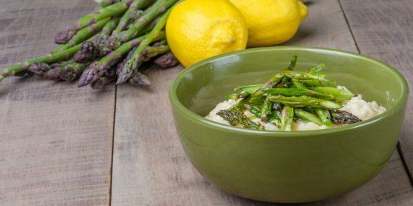 rice with asparagus recipe