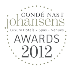 Mejor Destino Spa Europeo 2012 por Condé Nast Johansens